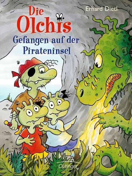 Фото Die Olchis - Gefangen auf der Pirateninsel дутики der spur der spur de034amde817