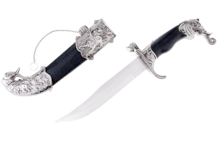 """Сувенирное оружие """"Кинжал"""". Китай. Металл, пластик. Длина: 27 см. Сохранность хорошая."""