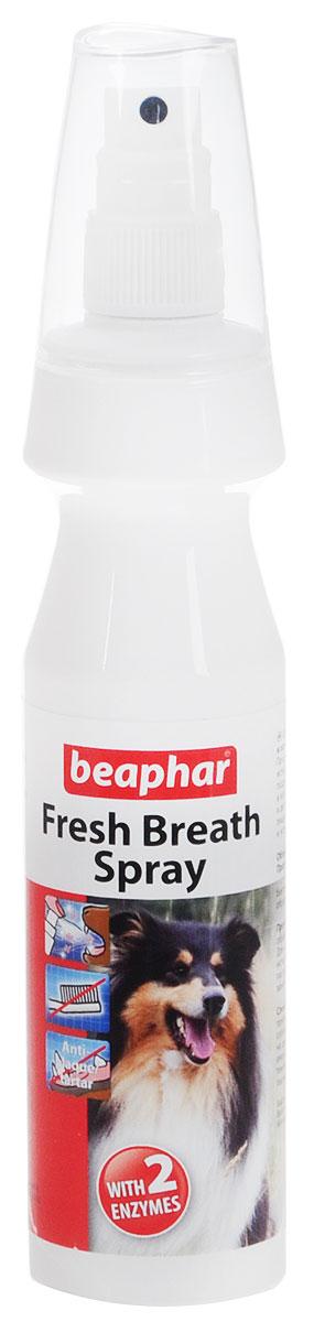 Спрей для чистки зубов и освежения дыхания у собак Beaphar  Fresh Breath Spray , 150 мл