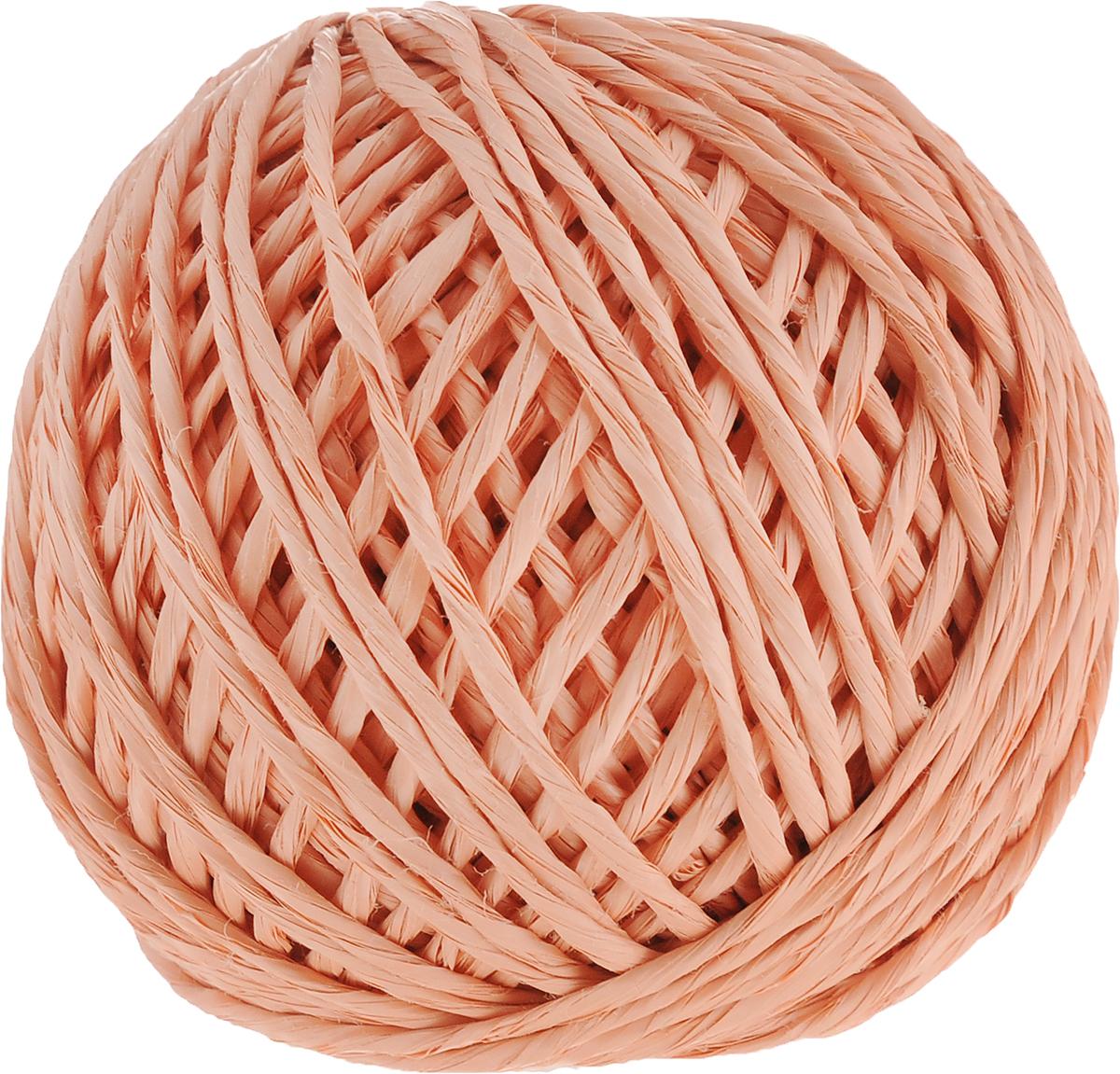 Шпагат Шнурком, цвет: персиковый, длина 60 мШпп_60_персиковыйПолипропиленовый шпагат Шнурком плотностью 1000 текс входит в категорию веревочнойпродукции, сырьем для которой являются синтетические волокна, в частности полипропиленоваянить. Данный материал характеризуется высокой прочностью и стойкостью к износу. Кроме того,он эластичен, гибок, не боится многократных изгибов, плотно облегает изделие при обвязке илегко завязывается в крепкие узлы.Относительная удельная плотность полипропиленовых шпагатов варьируется от 0,70 до 0,91кг/м3.Температура плавления от 150 до 170°C (в зависимости от вида и модели шпагата).Удлинение под предельной нагрузкой (18-20%). Длина шпагата: 60 м.Толщина нити: 2 мм.Линейная плотность шпагата: 1000 текс.