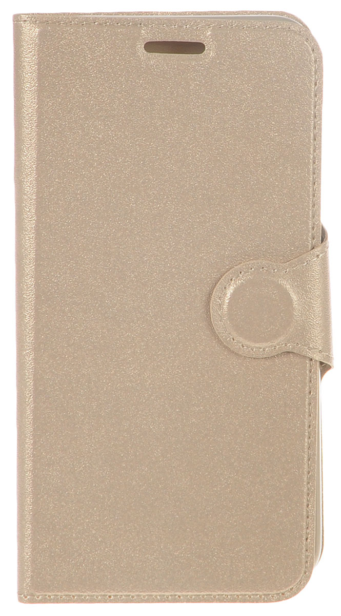Red Line Book Type чехол для Samsung Galaxy J5 Prime (G570), Gold аксессуар чехол samsung galaxy j5 prime g570 celly air case black air640bk