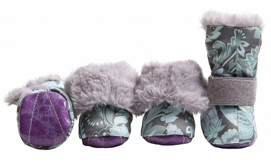 Ботинки для собак  OSSO Fashion , на меху, для мальчика. Размер S - Одежда, обувь, украшения
