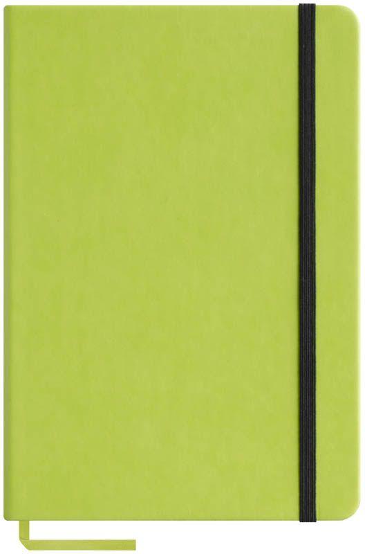 OfficeSpace Записная книжка Classic Velvet 96 листов в клетку цвет салатовый формат A5N5tr_6767Записная книжка OfficeSpace Classic Velvet выполнен в классическом европейском дизайне. Твердая обложка с фиксирующей резинкой. На внутренней стороне обложки специальный карман для визитных карточек и документов. Материал обложки - высококачественный кожзаменитель, подходит под персонализацию. Внутренний блок - высококачественная тонированная офсетная бумага 70 г/м2, клетка, пантонная печать. Книжный переплет. Закладка-ляссе в цвет обложки.Формат A5.