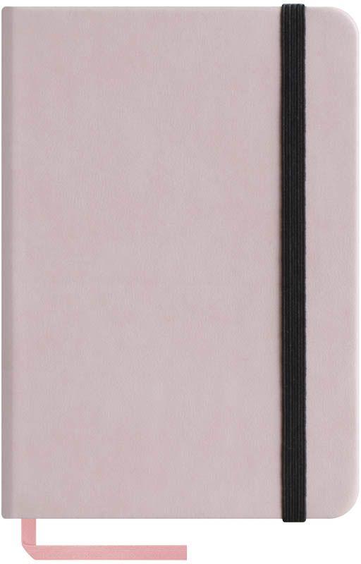 OfficeSpace Записная книжка Classic Velvet 96 листов в клетку цвет розовый формат A6N6tr_6781Записная книжка в классическом европейском дизайне. Твердая обложка с фиксирующей резинкой. На внутренней стороне обложки специальный карман для визитных карточек и документов. Материал обложки - высококачественный кожзаменитель, подходит под персонализацию. Внутренний блок - высококачественная тонированная офсетная бумага 70 г/м2, клетка, пантонная печать. Книжный переплет. Закладка-ляссе в цвет обложки. Индивидуальная упаковка.