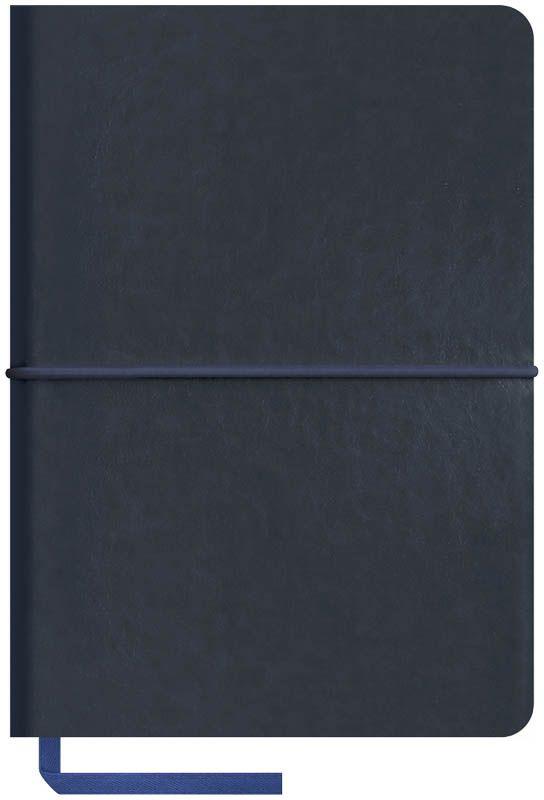 OfficeSpace Записная книжка Caprice Soft 120 листов в клетку цвет синий формат A6N6sr_6799Записная книжка в мягкой обложке с горизонтальной резинкой-фиксатором. Материал обложки - высококачественный кожзаменитель, подходит под персонализацию. Цветной срез блока. Внутренний блок из высокачественной тонированной офсетной бумаги 70 г/м2, клетка, пантонная печать. Прошитый блок. Закладка-ляссе в цвет обложки. Индивидуальная упаковка.