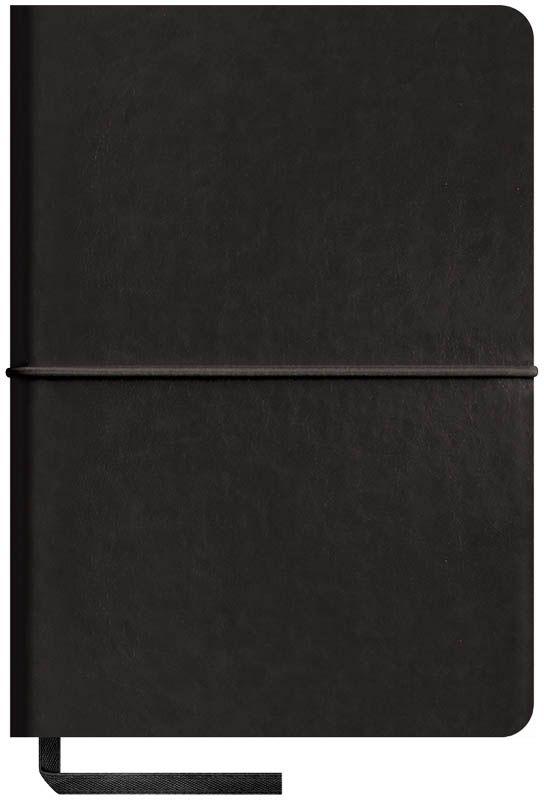 OfficeSpace Записная книжка Caprice Soft 120 листов в клетку цвет черный формат A6N6sr_6801Записная книжка в мягкой обложке с горизонтальной резинкой-фиксатором. Материал обложки - высококачественный кожзаменитель, подходит под персонализацию. Цветной срез блока. Внутренний блок из высокачественной тонированной офсетной бумаги 70 г/м2, клетка, пантонная печать. Прошитый блок. Закладка-ляссе в цвет обложки. Индивидуальная упаковка.