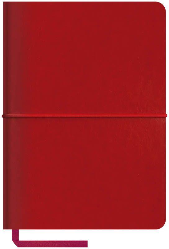 OfficeSpace Записная книжка Caprice Soft 120 листов в клетку цвет бордовый формат A6N6sr_6803Записная книжка в мягкой обложке с горизонтальной резинкой-фиксатором. Материал обложки - высококачественный кожзаменитель, подходит под персонализацию. Цветной срез блока. Внутренний блок из высокачественной тонированной офсетной бумаги 70 г/м2, клетка, пантонная печать. Прошитый блок. Закладка-ляссе в цвет обложки. Индивидуальная упаковка.