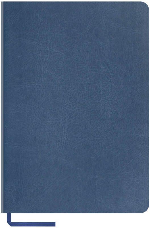 OfficeSpace Записная книжка Vintage Blank 96 листов в клетку цвет синий формат A5N5s_6833Записная книжка в мягкой обложке с чистыми страницами для заметок и зарисовок. Материал обложки - высококачественный кожзаменитель, подходит под персонализацию. Внутренний блок из высокачественной тонированной офсетной бумаги 70 г/м2, без печати. Прошитый блок. Закладка-ляссе в цвет обложки. Индивидуальная упаковка.