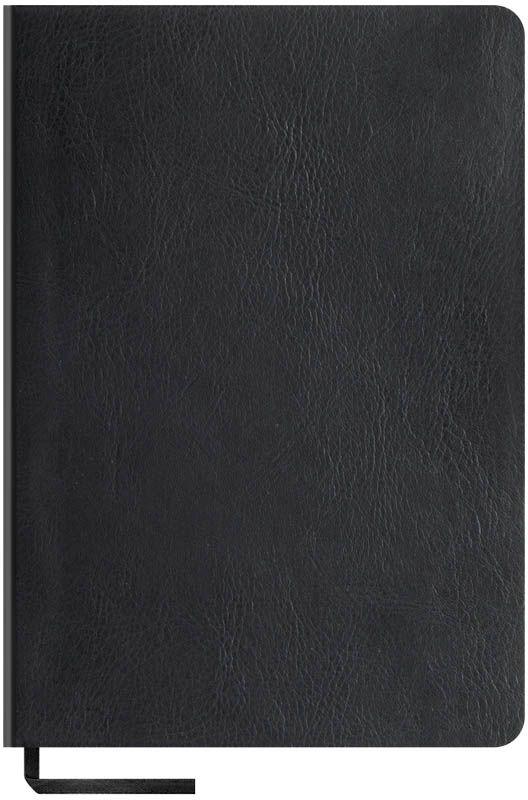 OfficeSpace Записная книжка Vintage Blank 96 листов цвет черный формат A5N5s_6835Записная книжка Vintage Blank в мягкой обложке с чистыми страницами для заметок и зарисовок. Материал обложки - высококачественный кожзаменитель, подходит под персонализацию. Внутренний блок выполнен из высококачественной тонированной офсетной бумаги без печати плотностью 70 г/м2. Прошитый блок. Закладка-ляссе в цвет обложки.