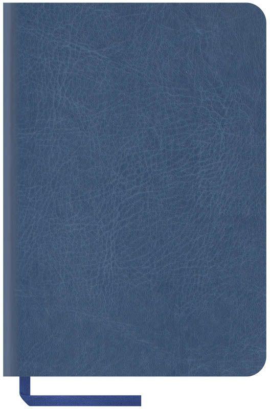 OfficeSpace Записная книжка Vintage Blank 96 листов в клетку цвет синий формат A6N6s_6837Записная книжка в мягкой обложке с чистыми страницами для заметок и зарисовок. Материал обложки - высококачественный кожзаменитель, подходит под персонализацию. Внутренний блок из высокачественной тонированной офсетной бумаги 70 г/м2, без печати. Прошитый блок. Закладка-ляссе в цвет обложки. Индивидуальная упаковка.