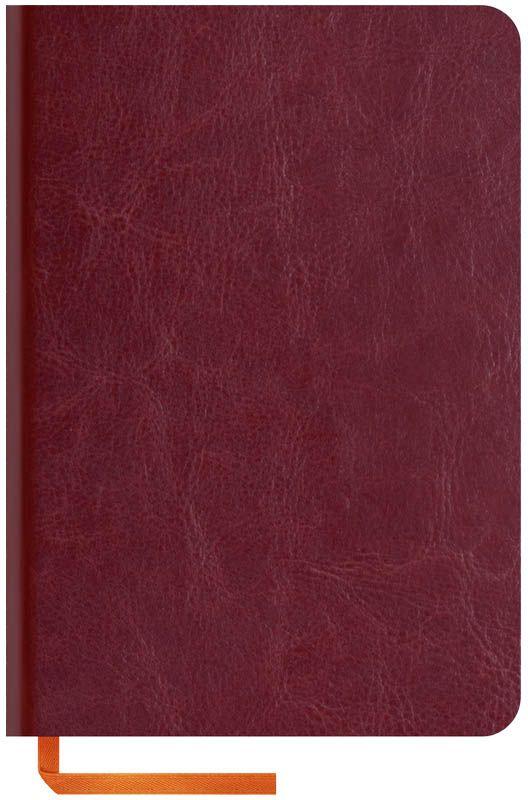 OfficeSpace Записная книжка Nebraska Soft 120 листов в клетку цвет бордовый формат A6N6s_6913Стильная записная книжка Nebraska Soft с ярким цветным срезом и ультрамягкой обложкой из 2 слоев высококачественного кожзаменителя. Подходит под персонализацию. Внутренний блок выполнен из высококачественной тонированной офсетной бумаги в клетку плотностью 70 г/м2, пантонная печать. Прошитый блок. Срез блока, форзацы, закладка-ляссе и каптал - оранжевые. Индивидуальная упаковка.