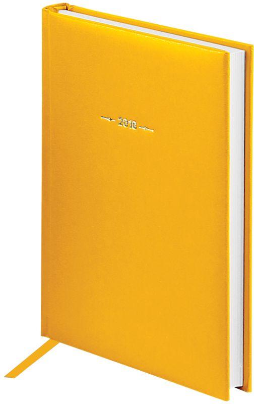 OfficeSpace Ежедневник Ariane 2018 датированный 176 листов в линейку цвет желтый формат A5Ed5_12411Ежедневник датированный формата А5 из коллекции Ariane. Обложка изготовлена из высококачественного переплетного материала с поролоновой прослойкой, цвет обложки - желтый. Подходит для всех видов полиграфического тиснения. Внутренний блок состоит из 176 листов офсетной бумаги плотностью 70 г/м2, печать блока в 2 краски, справочный материал. На форзацах географические карты России и Мира. Удобная закладка-ляссе и перфорированные уголки.