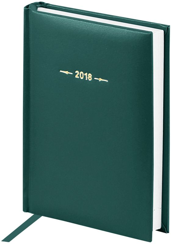 OfficeSpace Ежедневник Ariane 2018 датированный 176 листов в линейку цвет зеленый формат A6Ed6_12421Ежедневник датированный формата А6 из коллекции Ariane. Обложка изготовлена из высококачественного переплетного материала с поролоновой прослойкой, цвет обложки - зеленый. Подходит для всех видов полиграфического тиснения. Внутренний блок состоит из 176 листов офсетной бумаги плотностью 70 г/м2, печать блока в 2 краски, справочный материал. На форзацах географические карты России и Мира. Удобная закладка-ляссе и перфорированные уголки.