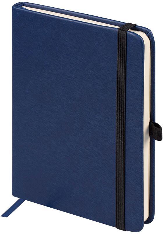OfficeSpace Ежедневник Classic Velvet недатированный 96 листов цвет синий формат A6En6v_12893Недатированный ежедневник OfficeSpace Classic Velvet имеет обложку, изготовленную из высококачественного кожзаменителя с мягким гладким матовым покрытием, цвет обложки - черный. Подходит для всех видов полиграфического тиснения. Внутренний блок состоит из 96 листов тонированной офсетной бумаги в линейку, плотностью 70 г/м2, печать блока в 2 краски, справочный материал. Вертикальная фиксирующая резинка на обложке. На заднем форзаце размещен удобный карман для визиток и документов. Удобная закладка-ляссе.Формат A6.