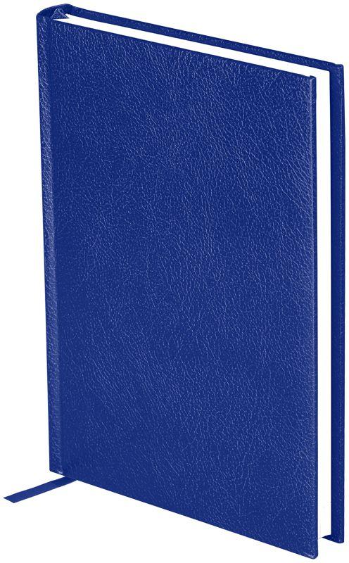OfficeSpace Ежедневник Derby недатированный 136 листов в линейку цвет синий формат A5En5_12499Ежедневник недатированный формата А5 из коллекции Derby. Обложка изготовлена из высококачественного переплетного материала с поролоновой прослойкой, цвет обложки - синий. Подходит для всех видов полиграфического тиснения. Внутренний блок состоит из 136 листов офсетной бумаги плотностью 70 г/м2, печать блока в 2 краски, справочный материал. На форзацах географические карты России и Мира. Удобная закладка-ляссе и перфорированные уголки.