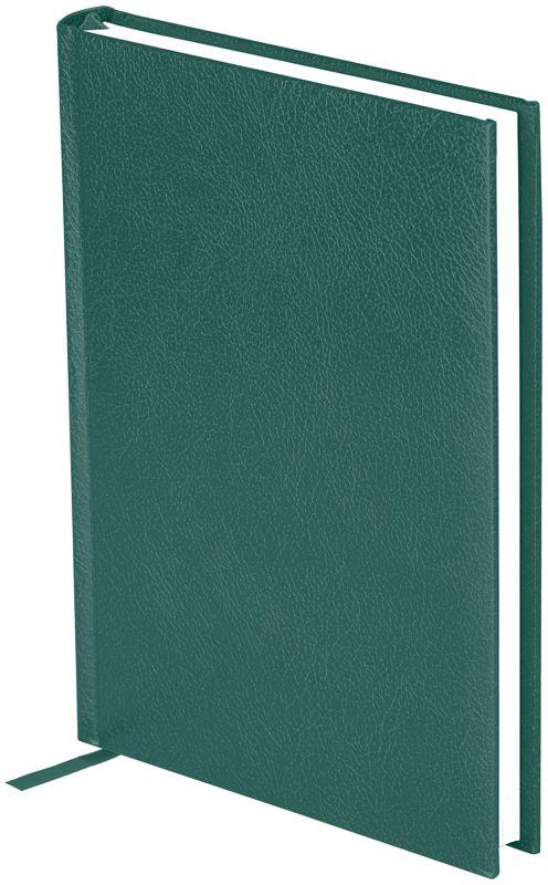 OfficeSpace Ежедневник Derby недатированный 136 листов цвет зеленый формат A5