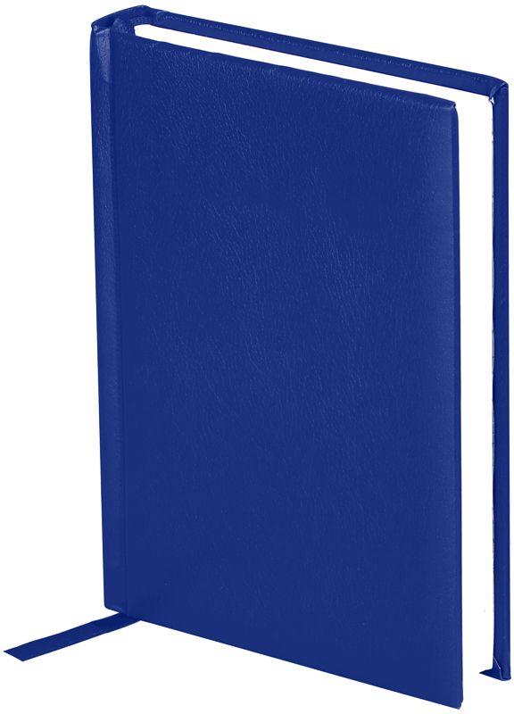 OfficeSpace Ежедневник Derby недатированный 136 листов в линейку цвет синий формат A6En6_12507Ежедневник недатированный формата А6 из коллекции Derby. Обложка изготовлена из высококачественного переплетного материала с поролоновой прослойкой, цвет обложки - синий. Подходит для всех видов полиграфического тиснения. Внутренний блок состоит из 136 листов офсетной бумаги плотностью 70 г/м2, печать блока в 2 краски, справочный материал. На форзацах географические карты России и Мира. Удобная закладка-ляссе и перфорированные уголки.