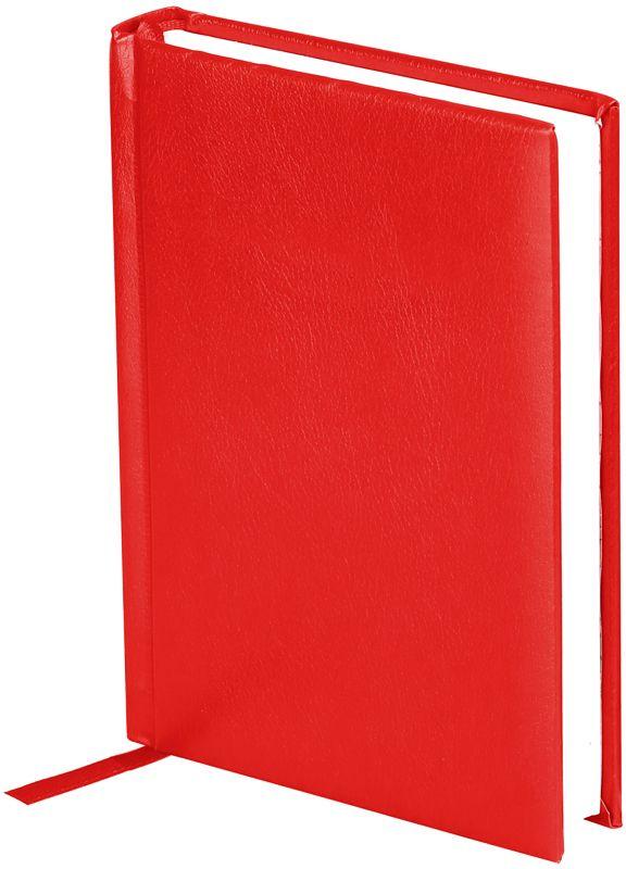 OfficeSpace Ежедневник Derby недатированный 136 листов цвет красный формат A6En6_12511Недатированный ежедневник OfficeSpace Derby имеет обложку, изготовленную из высококачественного переплетного материала с поролоновой прослойкой, цвет обложки - синий. Подходит для всех видов полиграфического тиснения. Внутренний блок состоит из 136 листов офсетной бумаги в линейку плотностью 70 г/м2, печать блока в 2 краски, справочный материал. На форзацах географические карты России и Мира. Удобная закладка-ляссе и перфорированные уголки.Формат A6.