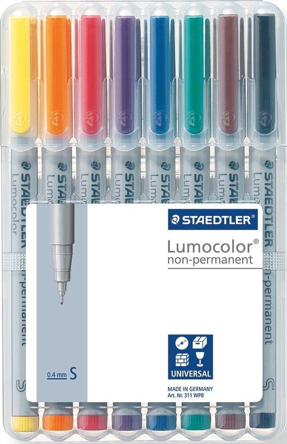 Staedtler Набор неперманентных маркеров Lumocolor 311 8 цветов -  Маркеры