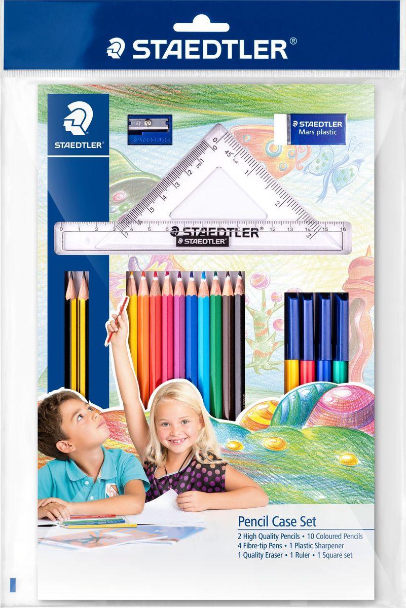 Staedtler Набор для рисования и черчения 20 предметов 61SET42 -  Канцелярские наборы