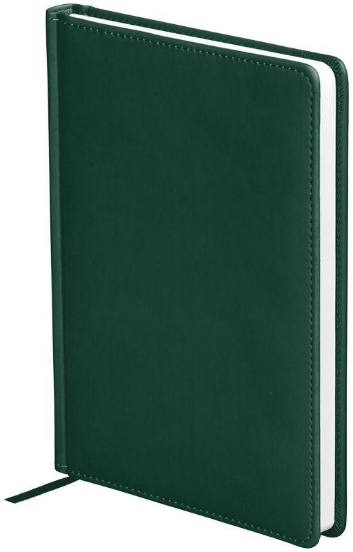 OfficeSpace Ежедневник Winner недатированный 136 листов в линейку цвет зеленый формат A5 -