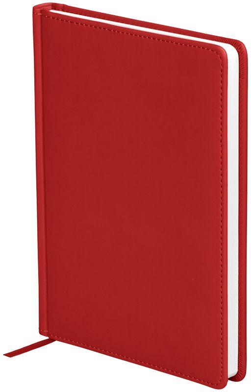 OfficeSpace Ежедневник Winner недатированный 136 листов в линейку цвет красный формат A5En5_12685Ежедневник недатированный формата А5 из коллекции OfficeSpace Winner. Обложка изготовлена из высококачественного кожзаменителя с гладкой мягкой матовой поверхностью, с поролоновой прослойкой. Подходит для всех видов полиграфического тиснения. Внутренний блок состоит из 136 листов офсетной бумаги плотностью 70 г/м2, печать блока в 2 краски, справочный материал. На форзацах географические карты России и Мира. Удобная закладка-ляссе и перфорированные уголки.