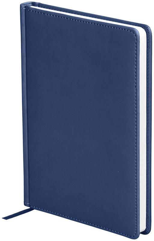 OfficeSpace Ежедневник Winner недатированный 136 листов в линейку цвет темно-синий формат A5En5_12687Ежедневник недатированный формата А5 из коллекции Winner. Обложка изготовлена из высококачественного кожзаменителя с гладкой мягкой матовой поверхностью, с поролоновой прослойкой, цвет обложки - темно-синий. Подходит для всех видов полиграфического тиснения. Внутренний блок состоит из 136 листов офсетной бумаги плотностью 70 г/м2, печать блока в 2 краски, справочный материал. На форзацах географические карты России и Мира. Удобная закладка-ляссе и перфорированные уголки.