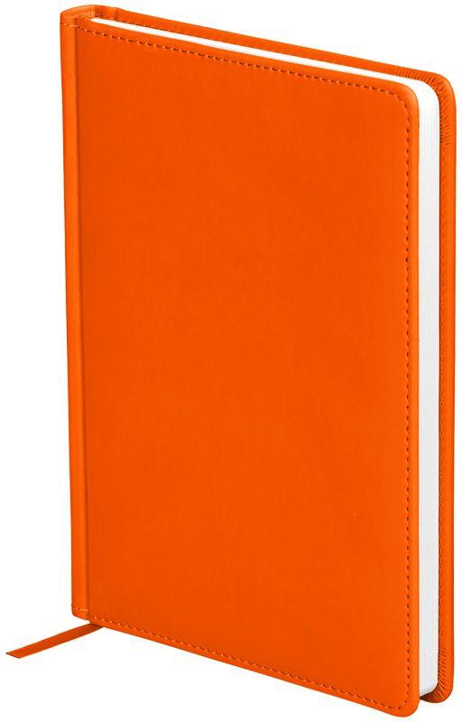 OfficeSpace Ежедневник Winner недатированный 136 листов в линейку цвет оранжевый формат A5En5_12689Ежедневник недатированный формата А5 из коллекции Winner. Подходит для всех видов полиграфического тиснения. Обложка изготовлена из высококачественного кожзаменителя с гладкой мягкой матовой поверхностью, с поролоновой прослойкой, цвет обложки - оранжевый. Внутренний блок состоит из 136 листов офсетной бумаги плотностью 70 г/м2, печать блока в 2 краски, справочный материал. На форзацах географические карты России и Мира. Удобная закладка-ляссе и перфорированные уголки.