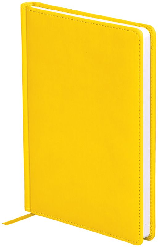 OfficeSpace Ежедневник Winner недатированный 136 листов в линейку цвет желтый формат A5 -