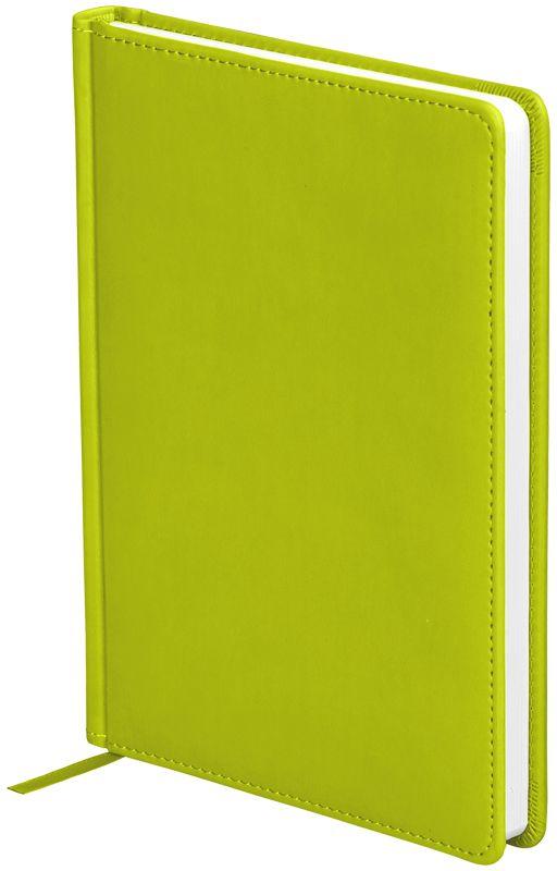OfficeSpace Ежедневник Winner недатированный 136 листов в линейку цвет салатовый формат A5En5_12695Ежедневник недатированный формата А5 из коллекции Winner. Обложка изготовлена из высококачественного кожзаменителя с гладкой мягкой матовой поверхностью, с поролоновой прослойкой, цвет обложки - салатовый. Подходит для всех видов полиграфического тиснения. Внутренний блок состоит из 136 листов офсетной бумаги плотностью 70 г/м2, печать блока в 2 краски, справочный материал. На форзацах географические карты России и Мира. Удобная закладка-ляссе и перфорированные уголки.