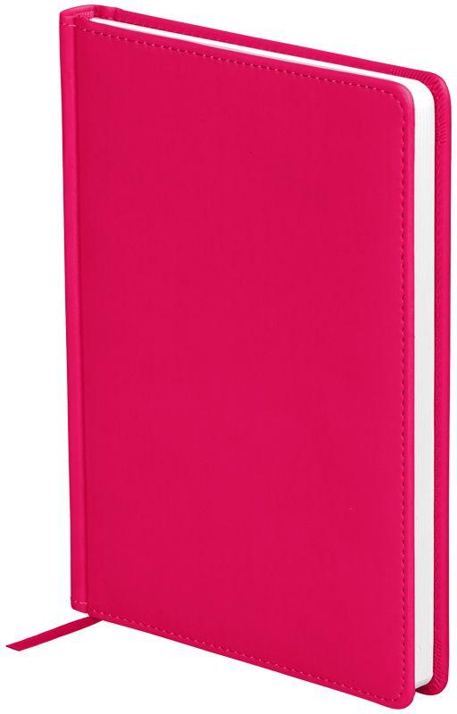 OfficeSpace Ежедневник Winner недатированный 136 листов в линейку цвет ярко-розовый формат A5En5_12697Обложка ежедневника OfficeSpace Winner изготовлена из высококачественного кожзаменителя с гладкой мягкой матовой поверхностью, с поролоновой прослойкой, цвет обложки - ярко-розовый. Подходит для всех видов полиграфического тиснения. Внутренний блок состоит из 136 листов офсетной бумаги плотностью 70 г/м2, печать блока в 2 краски, справочный материал. На форзацах географические карты России и Мира. Удобная закладка-ляссе и перфорированные уголки. Формат A5.
