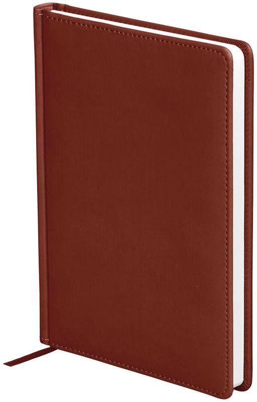OfficeSpace Ежедневник Winner недатированный 136 листов в линейку цвет светло-коричневый формат A5En5_12699Обложка ежедневника OfficeSpace Winner изготовлена из высококачественного кожзаменителя с гладкой мягкой матовой поверхностью, с поролоновой прослойкой, цвет обложки - светло-коричневый. Подходит для всех видов полиграфического тиснения. Внутренний блок состоит из 136 листов офсетной бумаги плотностью 70 г/м2, печать блока в 2 краски, справочный материал. На форзацах географические карты России и Мира. Удобная закладка-ляссе и перфорированные уголки. Формат A5.