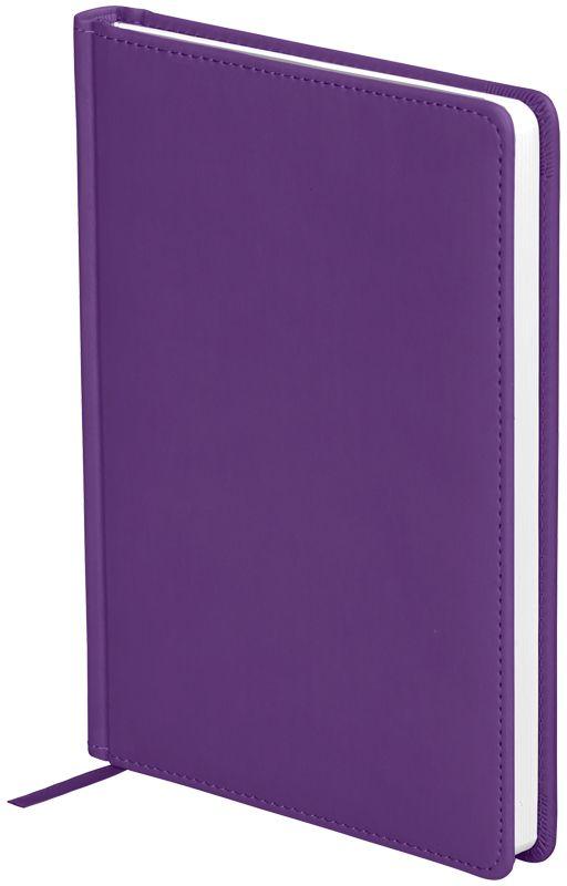 OfficeSpace Ежедневник Winner недатированный 136 листов в линейку цвет фиолетовый формат A5En5_12707Обложка ежедневника OfficeSpace Winner изготовлена из высококачественного кожзаменителя с гладкой мягкой матовой поверхностью, с поролоновой прослойкой, цвет обложки - фиолетовый. Подходит для всех видов полиграфического тиснения. Внутренний блок состоит из 136 листов офсетной бумаги плотностью 70 г/м2, печать блока в 2 краски, справочный материал. На форзацах географические карты России и Мира. Удобная закладка-ляссе и перфорированные уголки. Формат A5.