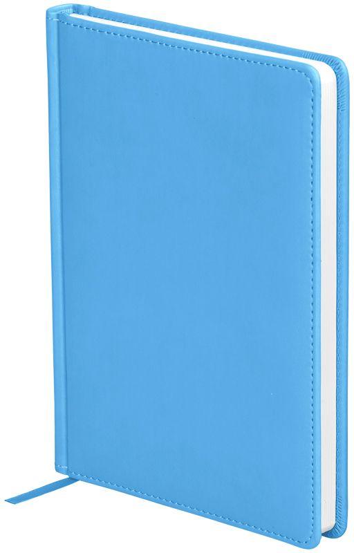 OfficeSpace Ежедневник Winner недатированный 136 листов в линейку цвет небесно-голубой формат A5En5_12709Обложка ежедневника OfficeSpace Winner изготовлена из высококачественного кожзаменителя с гладкой мягкой матовой поверхностью, с поролоновой прослойкой, цвет обложки - небесно-голубой. Подходит для всех видов полиграфического тиснения. Внутренний блок состоит из 136 листов офсетной бумаги плотностью 70 г/м2, печать блока в 2 краски, справочный материал. На форзацах географические карты России и Мира. Удобная закладка-ляссе и перфорированные уголки. Формат A5.