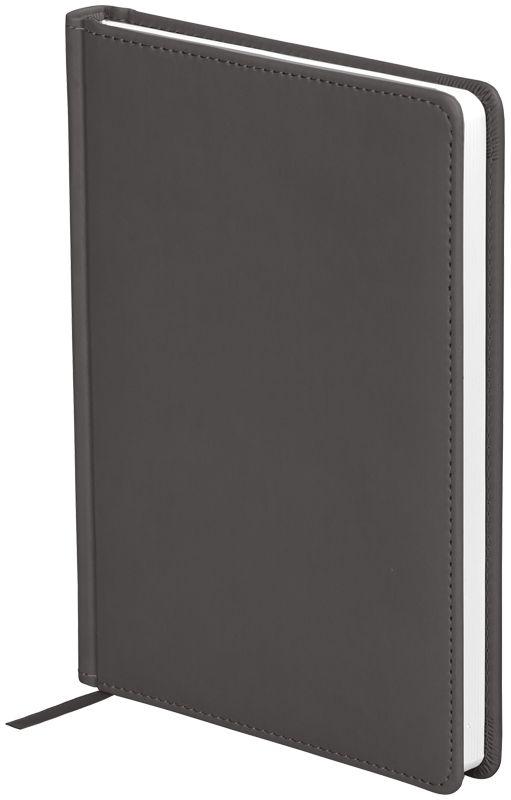 OfficeSpace Ежедневник Winner недатированный 136 листов в линейку цвет серый формат A5En5_12713Ежедневник недатированный формата А5 из коллекции Winner. Обложка изготовлена из высококачественного кожзаменителя с гладкой мягкой матовой поверхностью, с поролоновой прослойкой, цвет обложки - серый. Подходит для всех видов полиграфического тиснения. Внутренний блок состоит из 136 листов офсетной бумаги плотностью 70 г/м2, печать блока в 2 краски, справочный материал. На форзацах географические карты России и Мира. Удобная закладка-ляссе и перфорированные уголки.