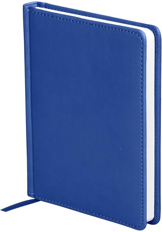 OfficeSpace Ежедневник Winner недатированный 136 листов в линейку цвет синий формат A6 En6_12719En6_12719Обложка ежедневника OfficeSpace Winner изготовлена из высококачественного кожзаменителя с гладкой мягкой матовой поверхностью, с поролоновой прослойкой, цвет обложки - синий. Подходит для всех видов полиграфического тиснения. Внутренний блок состоит из 136 листов офсетной бумаги плотностью 70 г/м2, печать блока в 2 краски, справочный материал. На форзацах географические карты России и Мира. Удобная закладка-ляссе и перфорированные уголки. Формат A6.