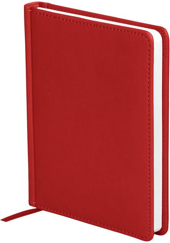 OfficeSpace Ежедневник Winner недатированный 136 листов в линейку цвет красный формат A6En6_12729Обложка ежедневника OfficeSpace Winner изготовлена из высококачественного кожзаменителя с гладкой мягкой матовой поверхностью, с поролоновой прослойкой, цвет обложки - красный. Подходит для всех видов полиграфического тиснения. Внутренний блок состоит из 136 листов офсетной бумаги плотностью 70 г/м2, печать блока в 2 краски, справочный материал. На форзацах географические карты России и Мира. Удобная закладка-ляссе и перфорированные уголки. Формат A6.