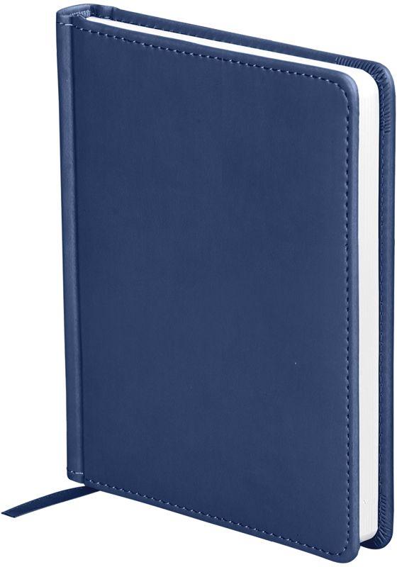 OfficeSpace Ежедневник Winner недатированный 136 листов в линейку цвет темно-синий формат A6En6_12731Обложка ежедневника OfficeSpace Winner изготовлена из высококачественного кожзаменителя с гладкой мягкой матовой поверхностью, с поролоновой прослойкой, цвет обложки - темно-синий. Подходит для всех видов полиграфического тиснения. Внутренний блок состоит из 136 листов офсетной бумаги плотностью 70 г/м2, печать блока в 2 краски, справочный материал. На форзацах географические карты России и Мира. Удобная закладка-ляссе и перфорированные уголки. Формат A6.