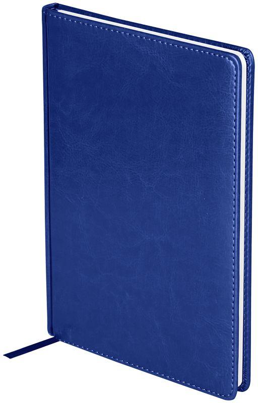 OfficeSpace Ежедневник Nebraska 2018 датированный 176 листов в линейку цвет синий формат B5Ed4_12779Ежедневник датированный формата B5 из коллекции OfficeSpace Nebraska. Обложка изготовлена из высококачественного кожзаменителя, имитирующего натуральную глянцевую кожу, с поролоновой прослойкой. Подходит для всех видов полиграфического тиснения. Внутренний блок состоит из 176 листов офсетной бумаги плотностью 70 г/м2, печать блока в 2 краски, справочный материал. На форзацах географические карты России и Мира. Удобная закладка-ляссе и перфорированные уголки.
