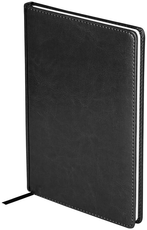 OfficeSpace Ежедневник Nebraska 2018 датированный 176 листов в линейку цвет черный формат B5Ed4_12781Ежедневник датированный формата B5 из коллекции Nebraska. Обложка изготовлена из высококачественного кожзаменителя, имитирующего натуральную глянцевую кожу, с поролоновой прослойкой, цвет обложки - черный. Подходит для всех видов полиграфического тиснения. Внутренний блок состоит из 176 листов офсетной бумаги плотностью 70 г/м2, печать блока в 2 краски, справочный материал. На форзацах географические карты России и Мира. Удобная закладка-ляссе и перфорированные уголки.
