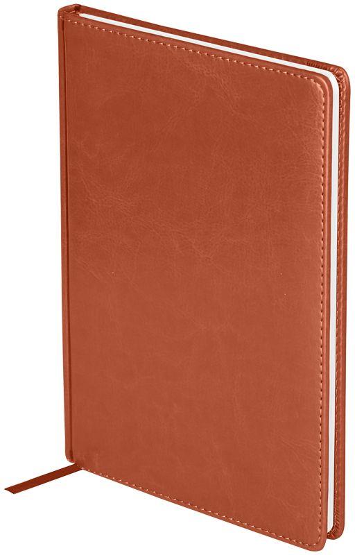 OfficeSpace Ежедневник 2018 Nebraskaдатированный 176 листов в линейку цвет коричневый формат B5Ed4_12783Датированный ежедневник OfficeSpace Nebraska имеет обложку, изготовленную из высококачественного кожзаменителя, имитирующего натуральную глянцевую кожу, с поролоновой прослойкой, цвет обложки - коричневый. Подходит для всех видов полиграфического тиснения. Внутренний блок состоит из 176 листов офсетной бумаги плотностью 70 г/м2, печать блока в 2 краски, справочный материал. На форзацах географические карты России и Мира. Удобная закладка-ляссе и перфорированные уголки.Формат B5.