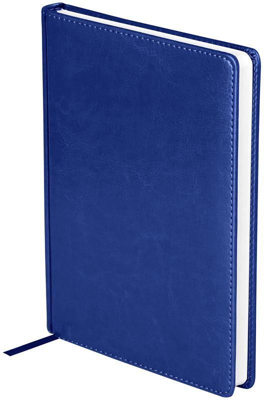 OfficeSpace Ежедневник Nebraska недатированный 136 листов в линейку цвет синий формат A5
