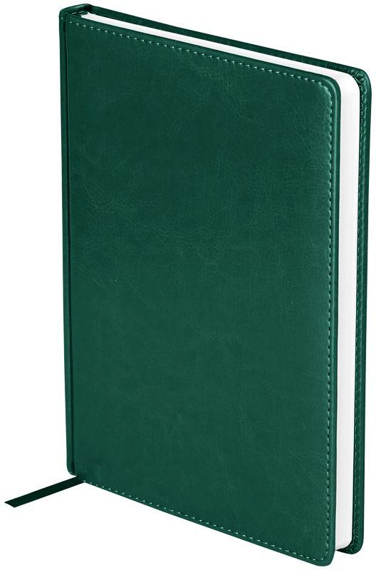 OfficeSpace Ежедневник Nebraska недатированный 136 листов в линейку цвет зеленый формат A5En5_12827Недатированный ежедневник OfficeSpace Nebraska имеет обложку, изготовленную из высококачественного кожзаменителя, имитирующего натуральную глянцевую кожу, с поролоновой прослойкой, цвет обложки - зеленый. Подходит для всех видов полиграфического тиснения. Внутренний блок состоит из 136 листов офсетной бумаги плотностью 70 г/м2, печать блока в 2 краски, справочный материал. На форзацах географические карты России и Мира. Удобная закладка-ляссе и перфорированные уголки.Формат A5.