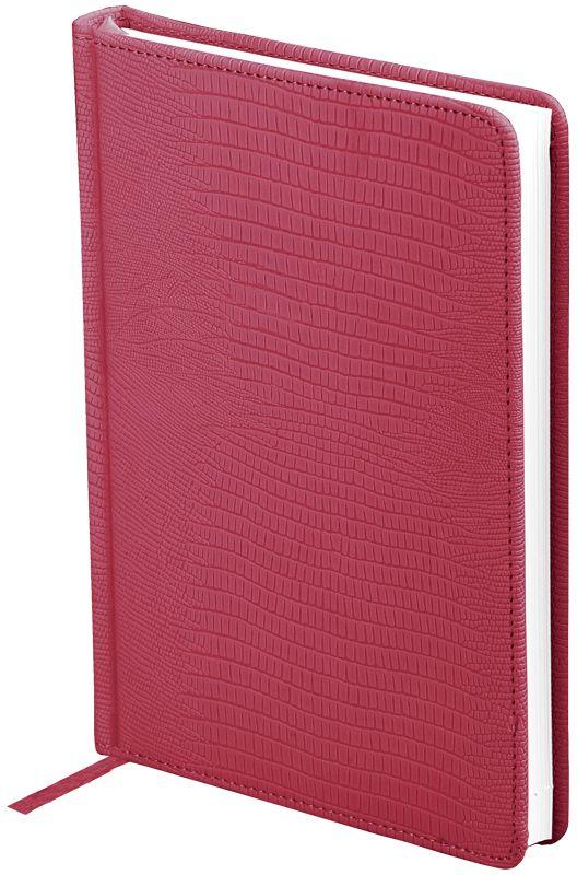 OfficeSpace Ежедневник Reptile недатированный 160 листов в линейку цвет бордовый формат A5 -