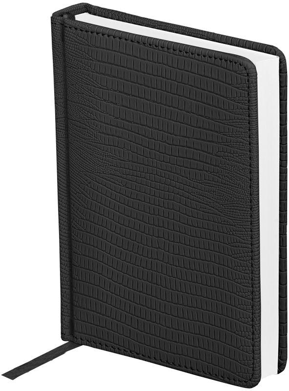 OfficeSpace Ежедневник Reptile недатированный 160 листов в линейку цвет черный формат A6 -