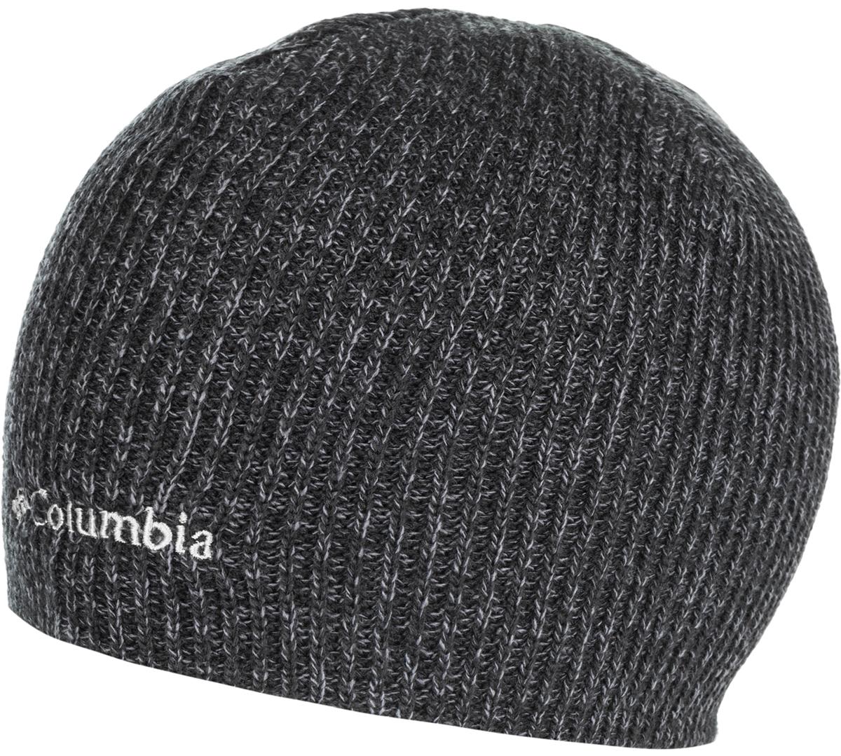 Шапка муж Columbia Whirlibird Watch Cap Beanie, цвет: темно-серый. 1185181-016. Размер универсальный1185181-016Данная модель шапки прекрасно подойдет для городской жизни и поездок за город. Модель оформлена вышитым логотипом бренда.