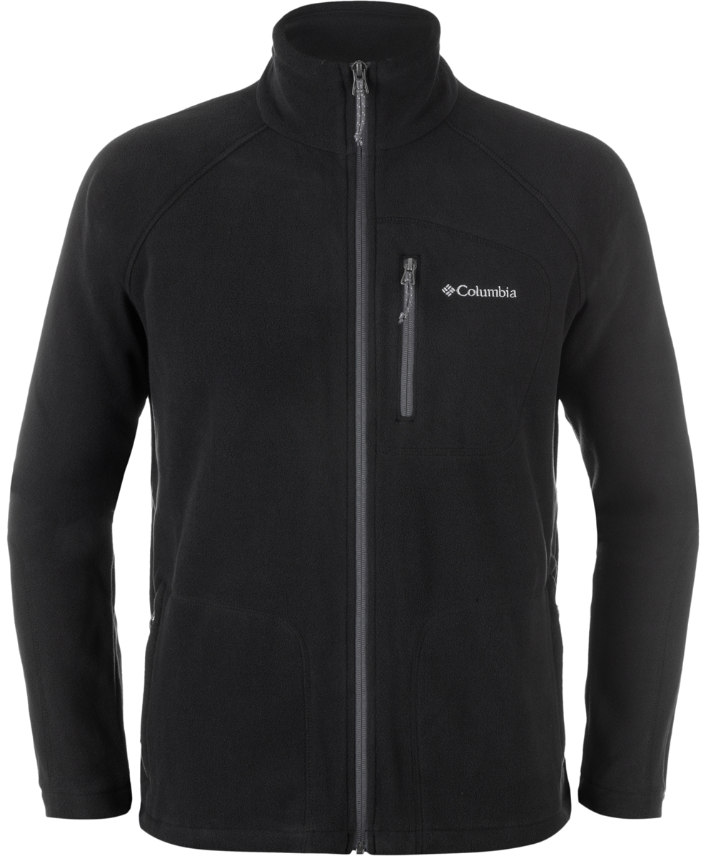 Толстовка муж Columbia Fast Trek Ii Full Zip Fleece M, цвет: черный. 1420421-010. Размер M (46/48)1420421-010Мужской джемпер подходит для активного отдыха и как вариант на каждый день. Модель можно носить как самостоятельно, так и в качестве среднего слоя в холодную погоду.