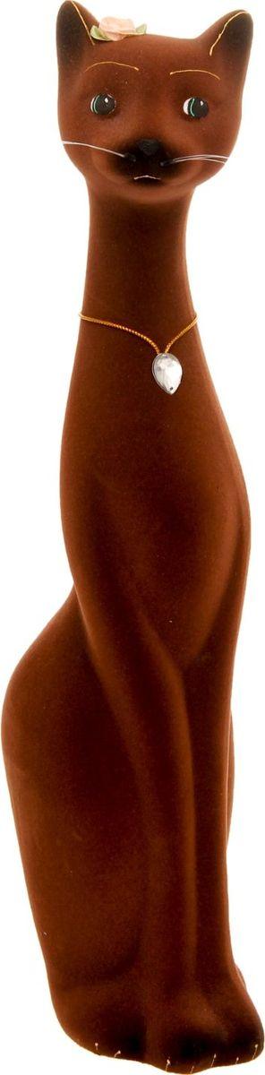 Копилка Керамика ручной работы Кошка Мурка, 9 х 11 х 41 см1120220Женщины любят баловать себя покупками для красоты и здоровья. С помощью такой копилки можно незаметно приблизиться к приобретению желаемого. Образ кошки всегда олицетворял привлекательность и символизировал домашнее спокойствие. Поставьте изделие возле предметов роскоши, и оно будет способствовать их преумножению.