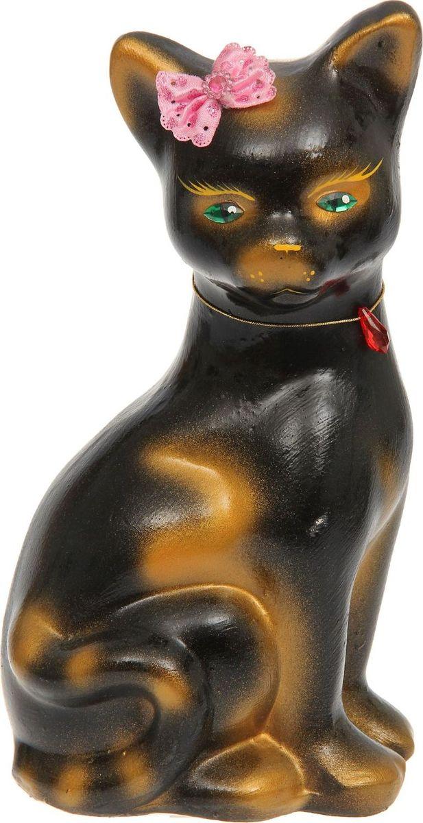 Копилка Керамика ручной работы Кошка Лиза, 14 х 12 х 28 см1133361Женщины любят баловать себя покупками для красоты и здоровья. С помощью такой копилки можно незаметно приблизиться к приобретению желаемого. Образ кошки всегда олицетворял привлекательность и символизировал домашнее спокойствие. Поставьте изделие возле предметов роскоши, и оно будет способствовать их преумножению.Обращаем ваше внимание, что копилка является одноразовой.