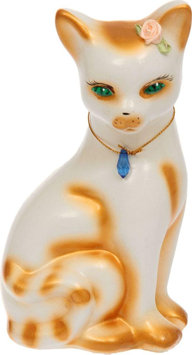Копилка Керамика ручной работы Кошка Лиза, 10 х 14 х 23 см1133362Женщины любят баловать себя покупками для красоты и здоровья. С помощью такой копилки можно незаметно приблизиться к приобретению желаемого. Образ кошки всегда олицетворял привлекательность и символизировал домашнее спокойствие. Поставьте изделие возле предметов роскоши, и оно будет способствовать их преумножению.